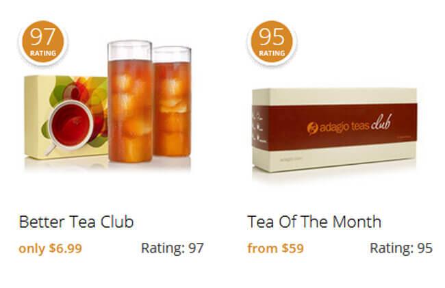 Adagio Teas Pricing