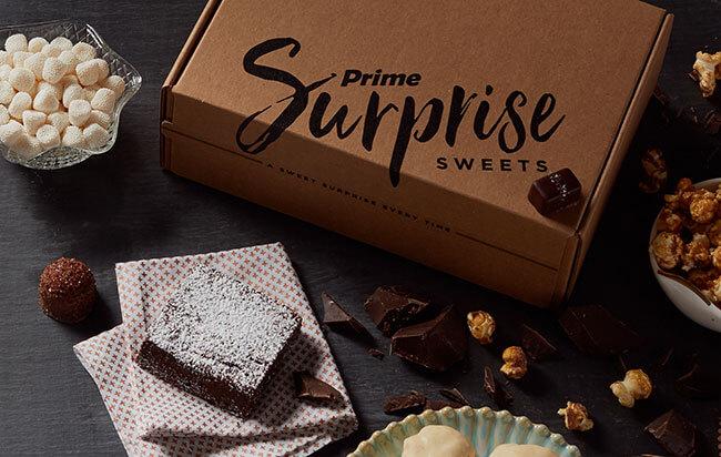 Amazon Prime Surprise Sweets Box