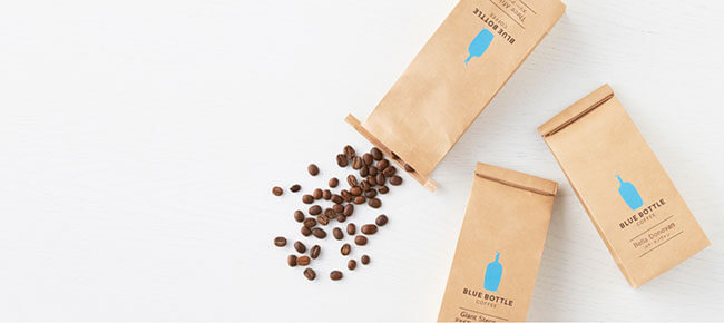Blue Bottle Coffee box