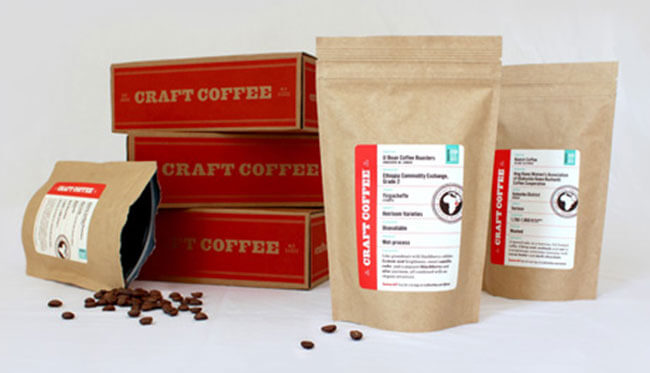 Craft Coffee subscribe box
