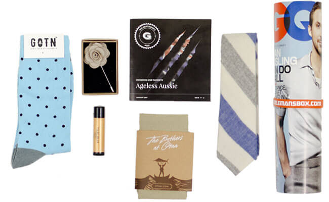 Gentlemans Box subscription boxes