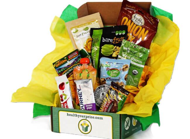 Healthy Surprise subscribe box