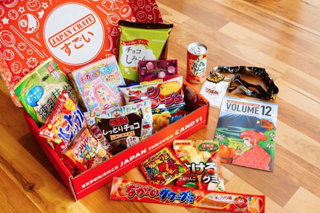 Japan Crate subscription box