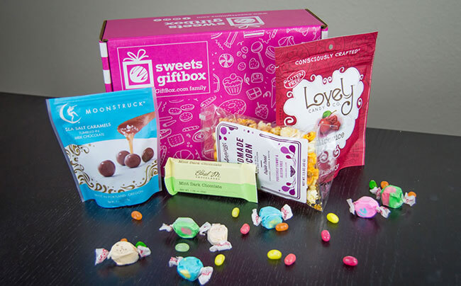 Sweets GiftBox subscription box