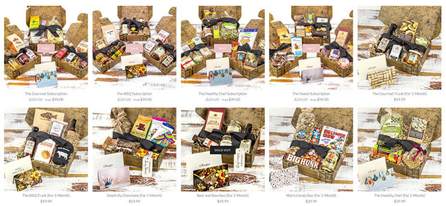 Taste Trunk subscribe box