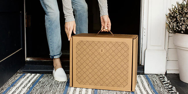 Trunk Club boxes