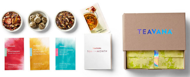 teavana subscription box