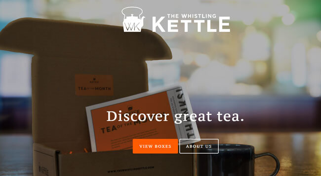 whislting kettle