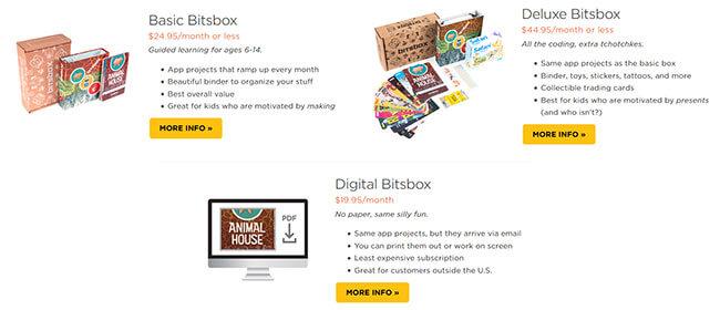 Bitsbox boxes