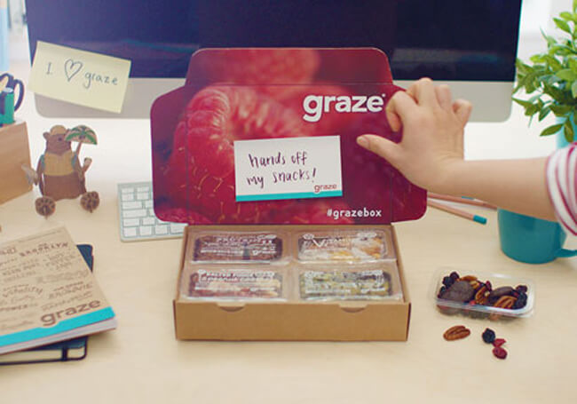 graze subscribe box