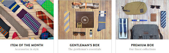 Gentlemans Box boxes