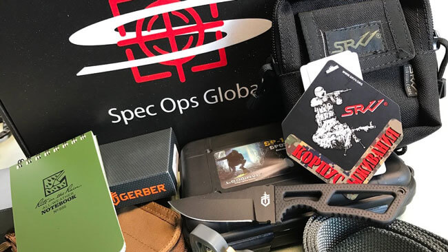 Spec Ops Global subscription boxes