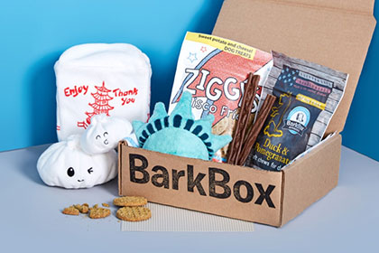 BarkBox subscription box