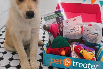 Pet Treater subscription box