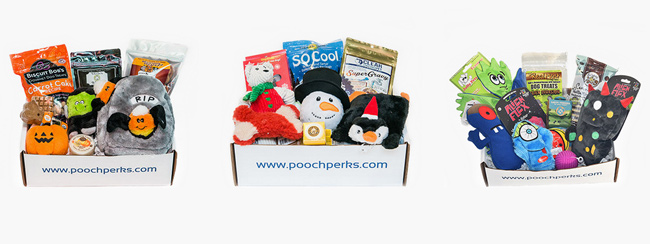 PoochPerks boxes