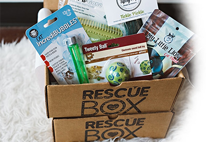 RescueBox subscription box