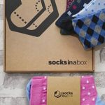 Socks In A Box packet