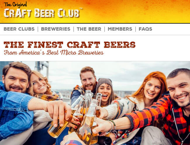 The Craft Beer homepage