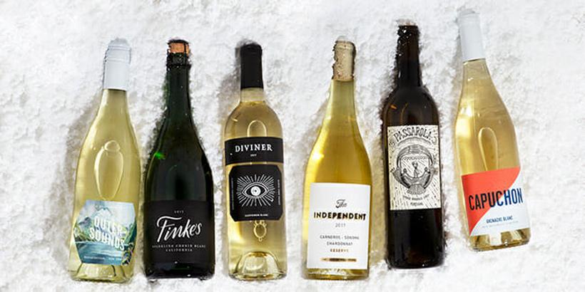 Winc bottles of wine