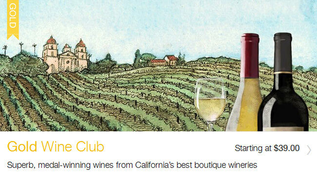 club Gold Wine