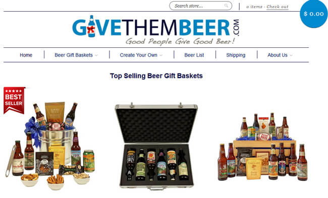 give them beer homepage